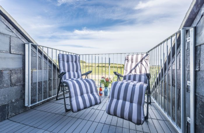 Balcony/sun terrace on second floor with panoramic views