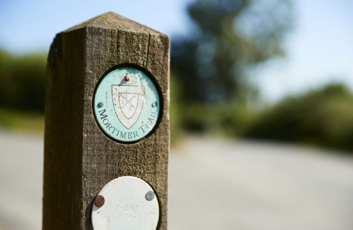 The Mortimer Trail provides an eight mile walk into Ludlow