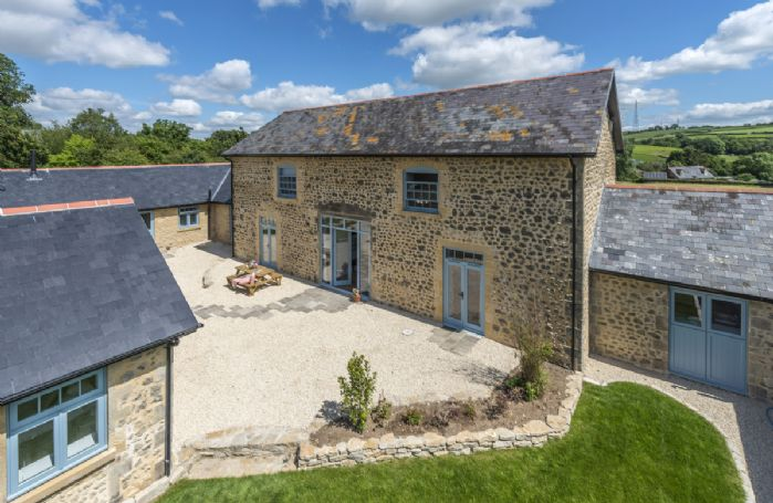 Stapleford Farm Cottages is a collection of three impressively renovated barn conversions