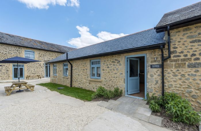 Tothery Cottage completes the collection of three cottages at Stapleford Farm Cottages