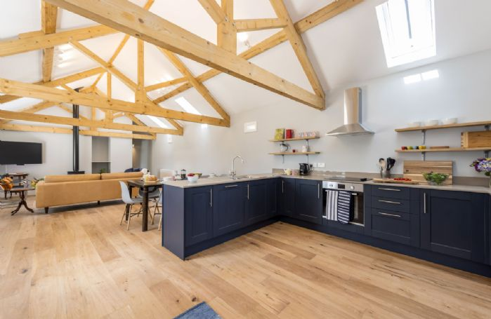 Bower Cottage : Ground floor kitchen, dining and sitting room