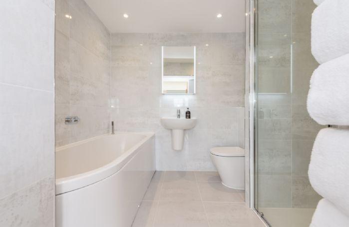 First floor: Enjoy stunning views whilst soaking in the bath