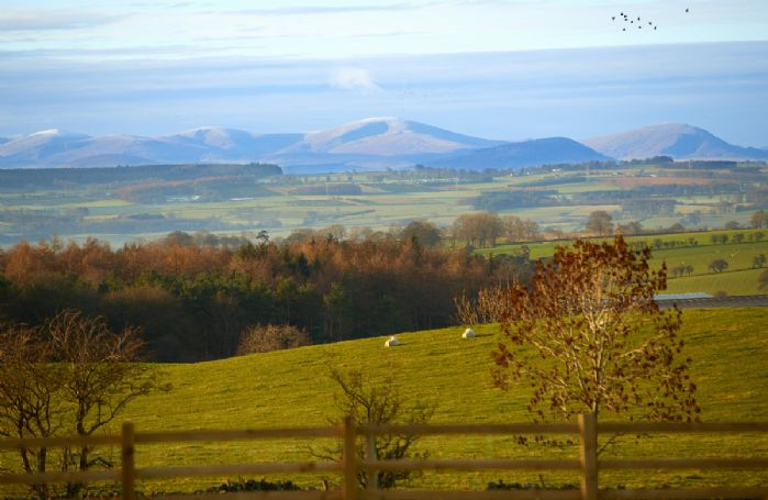 Exceptional views from the house look out on to the Pennines
