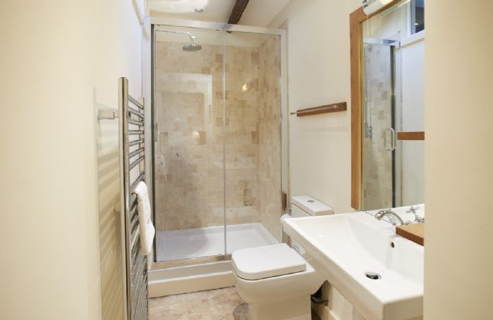 First floor:  The Martindale en-suite shower room