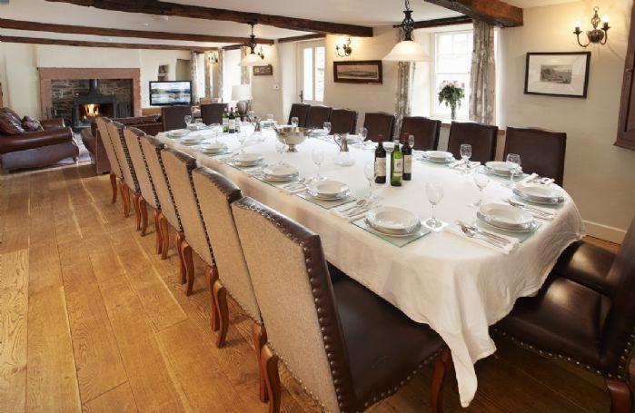 Hause Hall Farm, Ground floor:  Open plan kitchen