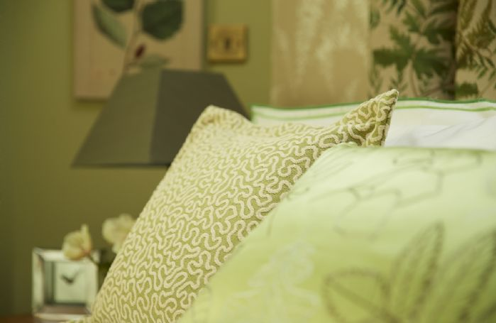 Soft and luxurious furnishings throughout