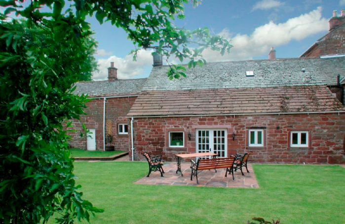 Stag Cottage has private gardens as well as full access to 20 acres of woodland walks
