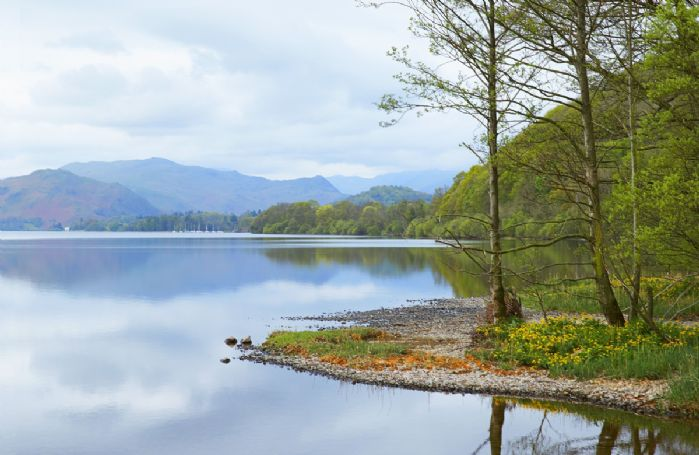 One of many magical lakes in the Lake District National Park