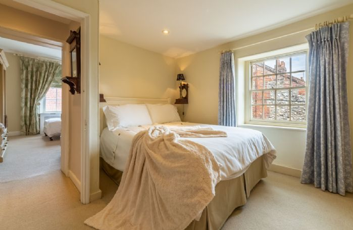 First floor: Bedroom four with 4'6 double bed
