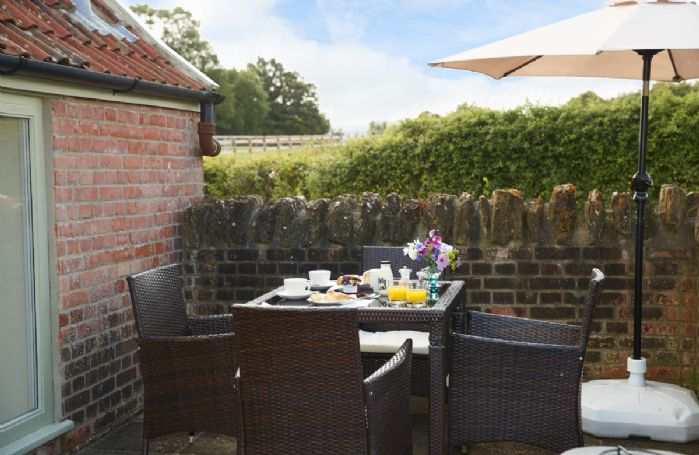 A quiet spot for breakfasts or lazy lunches