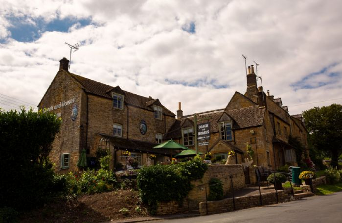 You'll always receive a warm welcome at The Coach & Horses pub