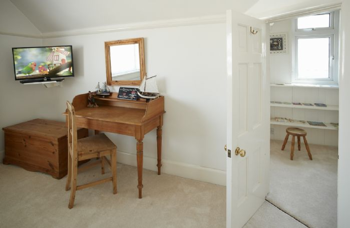 First floor: Dressing table leading to a pirate room den!