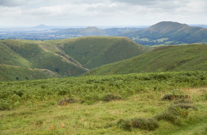 Stunning countryside views of the Shropshire Hills
