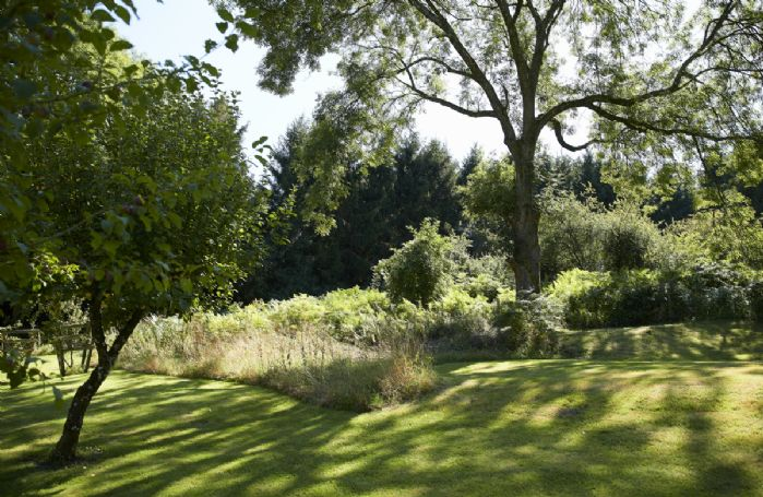 Plenty of shaded areas in the gardens