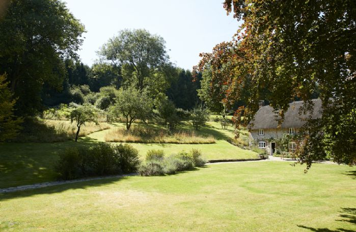 One acre of orchard gardens to explore and enjoy