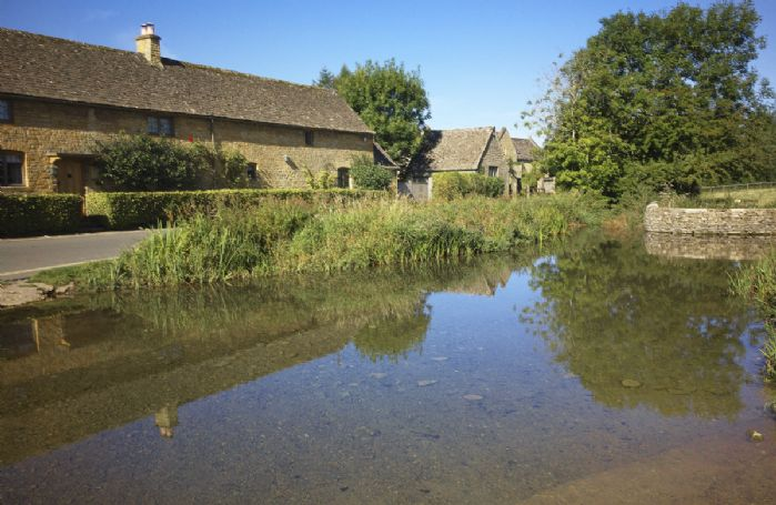 Lower Slaughter is one of the Cotswold's most idyllic villages