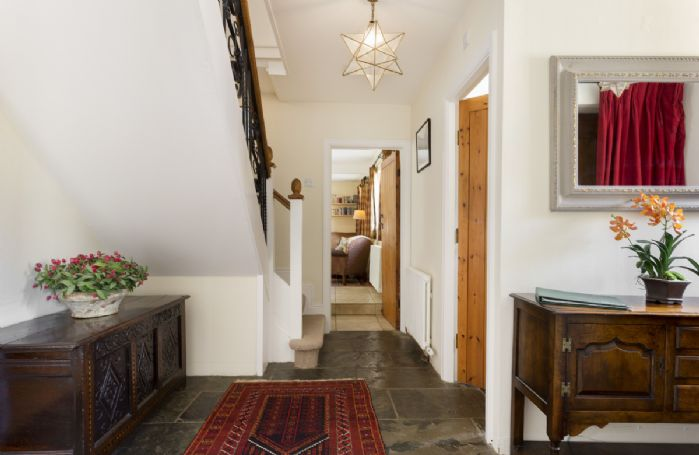 Ground floor: Spacious hallway leading to the kitchen and dining room