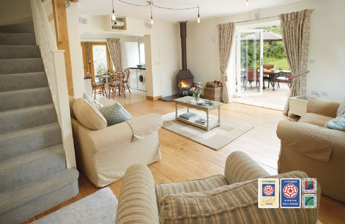 Orchard View is an award winning luxury holiday property set in an Area of Outstanding Natural Beauty