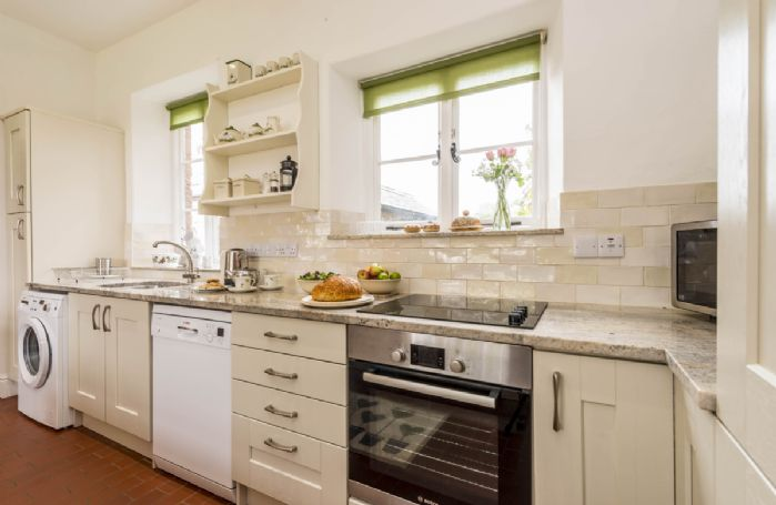 Ground floor: Fully equipped farmhouse kitchen