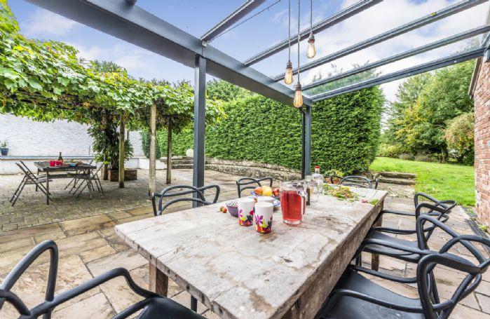 Enjoy al fresco dining on the terrace