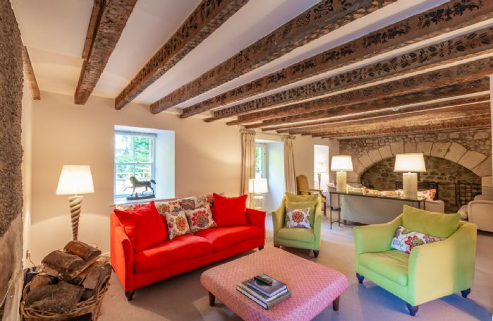Ground floor: Ample seating in the drawing room