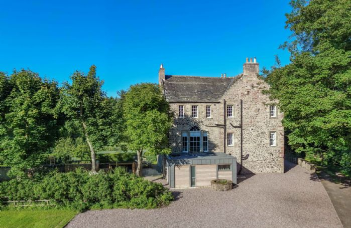 Old Purves Hall is a characterful 16th century building that has been tastefully modernised with luxurious, contemporary design