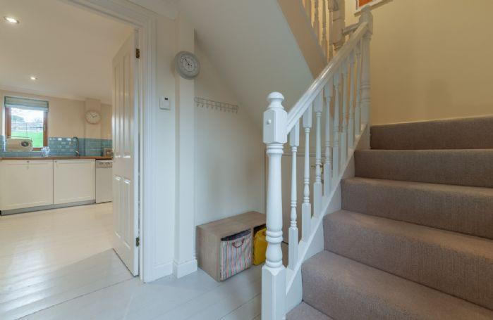 Ground floor: Hallway leading to first floor bedrooms