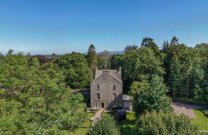 A spacious retreat amongst the beautiful scenery of the Scottish Borders
