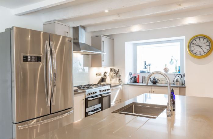 Ground floor: State-of-the art kitchen with central island