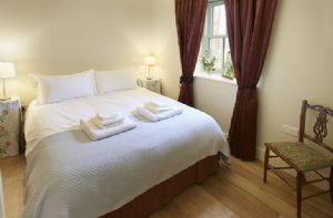 First floor:  The Patterson Room with 5ft king size bed which can be arranged as two single beds upon request