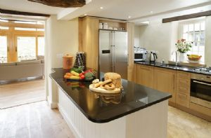 Hause Hall Farm: Ground floor: Open plan kitchen, dining area, sitting room and day room