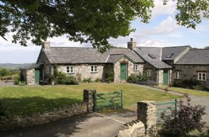 Ty Newydd is one of seven luxury self catering cottages on The Bodnant Estate near Conwy in North Wales
