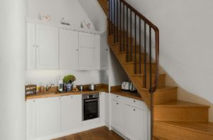Lower Ground floor:  Open plan kitchen area