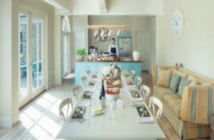 The Clockhouse:  Open plan kitchen/dining room