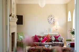 The Clockhouse:  Drawing room