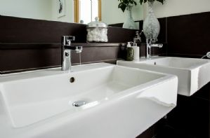 One of four en-suite bathrooms