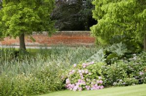 The beautiful gardens on the Weston Park estate