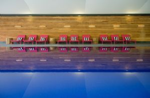 On site spa offering treatments, with a gym, heated pool, sauna, steam and hot tub, for which additional charges will apply.