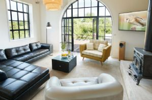 Ground Floor:  Open plan living room