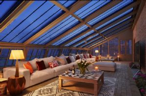 The Walled Garden - Ground floor: Cuddle up on the sofa and watch a film, don't forget the popcorn!