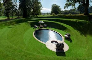 Use of an outdoor swimming pool