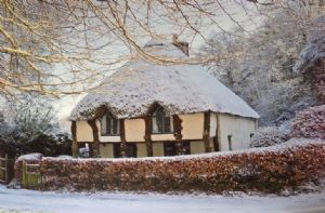 Higher Lodge in the snow