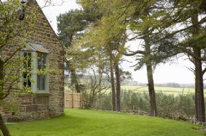 Fully enclosed panoramic garden