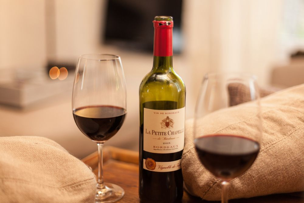 Relax with a local bottle of red!