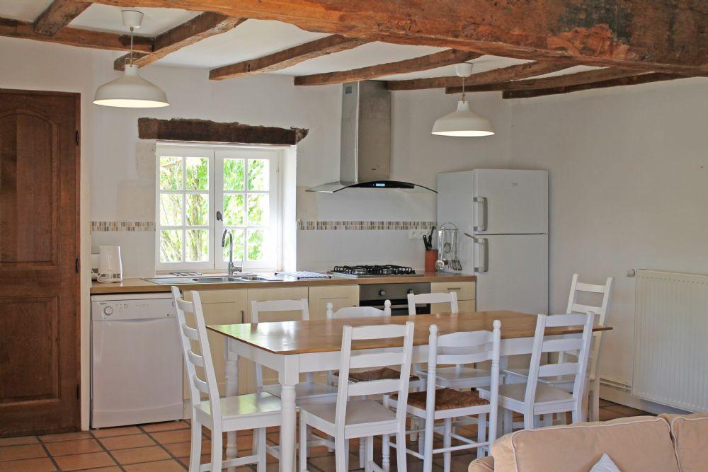 The kitchen..