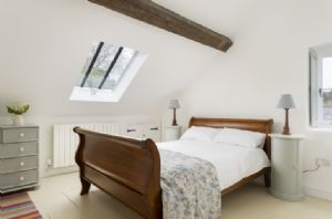 First floor: Bedroom with 4'6 double bed and en-suite bathroom