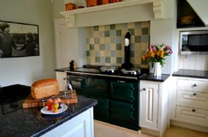 Ground: Kitchen with AGA