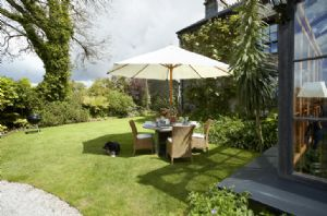 Sit outside in the stylish outdoor furniture and enjoy the relaxing gardens