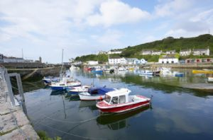 Nearby is the pretty harbour of Porthleven