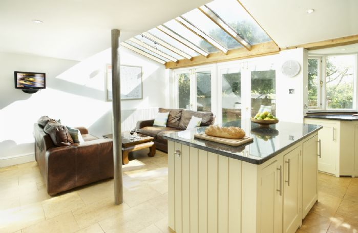 Ground floor: Open plan kitchen and sitting area